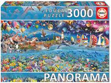 Puzles, número de piezas 2000 - 4999 piezas