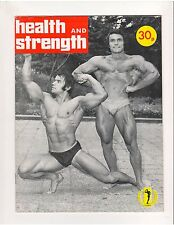 Health and Strength Bodybuilding Muscle Magazine/vol 106 #3 Peter Stach 1977 GB