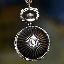 Taschenuhr Kugel Kettenuhr Kette Uhr Kugeluhr 25 mm Ø altgold - farbig Halskette