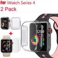 Apple Watch Series 4 Tempered Glass Screen Protector & Soft TPU Case 40/44mm UW
