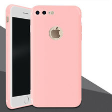 Ultra Thin Slim Matte Soft Silicone TPU Back Case Cover For Apple iPhone 7 7Plus