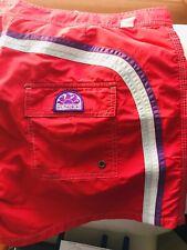 Costume Da Bagno Uomo Boxer Sundek Mare Summer Estate Rosso