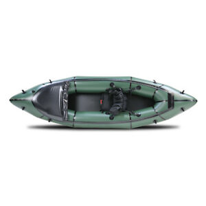 MRS Alligator Barracuda Solo Packraft