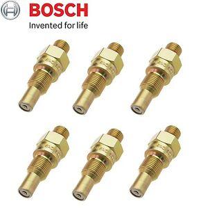 Fits Mercedes-Benz W108 W113 Set of 6 Fuel Injector Nozzles Bosch 0 437 004 002