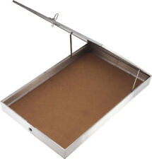 Displays Aluminum Display Case One piece aluminum frame with tempered glass top.
