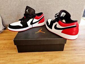 Nike Air Jordan 1 Mens Size US 13 UK 12 Red Black White Great Condition