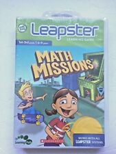 Leapster Math Missions Learning Game 1st - 3rd Grade 6 - 9 Years Leap Frog