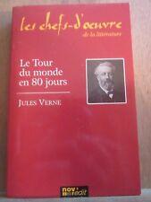 Jules Verne: Le Tour du Monde en 80 jours/ Les Chefs-d'Oeuvre de la Littérature