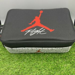 Nike Air Jordan The Shoe Box Flight Black/Cement Grey Sneaker Storage Bag