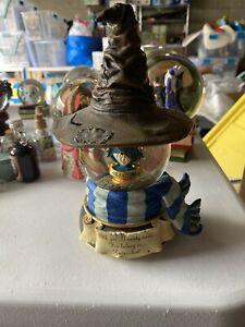 Harry Potter San Francisco Music Box Globe Sorting Hat Ravenclaw No Box Rare