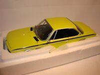 1:18 BMW 3,0 CSL / CSI, Minichamps, Zitronengelb, in original Händler Verpackung