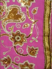 Ladies Saree, Indian Fashion, Saree gold design-super Fast delivery