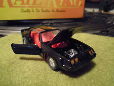 1/43 Trans Am Black w/Red Interior Pull Back Racer By Superior Racers