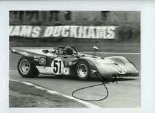 Jacky Ickx Ferrari 312 PB BOAC 1000 Km 1971 Signed Photograph