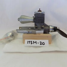 Cyclon Model Gasoline Airplane Engine USED No Box with Prop and Extra Muffler