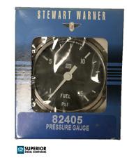 Stewart Warner Deluxe Fuel Pressure Gauge 82405