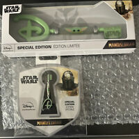 The Mandalorian Key & Pin Baby Yoda Star Wars In Hand Ready To Ship Disney Child