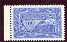 Canada 1951 KGVI $1 ultramarine superb MNH. SG 433. Sc 302.