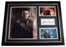 John Hurt SIGNED FRAMED Photo Autograph 16x12 display Harry Potter Film COA