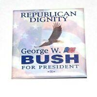 2000 GEORGE W. BUSH campaign pin pinback button political presidential election