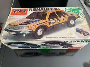 RENAULT 18 de PAYA en caja, vintage, antiguo,Radiodirigido R/C