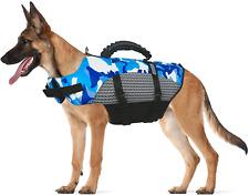 Dog Life Jacket Swimming Vest For Safety Adjustable Brreathable Swimsuit Large