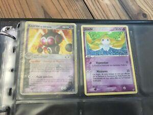 Lot de 11 Cartes Pokemon 100 % Bloc EX rare ... Team Magma vs Team Aqua