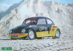 Large A3 Poster - Street Machine Magazine Pro-Street VW Beetle (Alfabug) Custom