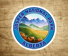 """Jasper National Park Sticker Decal Alberta Canada Vinyl 3"""" X 3"""" Indoor Outdoor"""