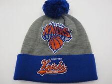New York Knicks NBA Retro Mitchell & Ness Ski Beanie Cap Winter Hat
