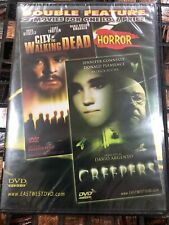 Double Feature Horror City Of Walking Dead And Creepers Dvd