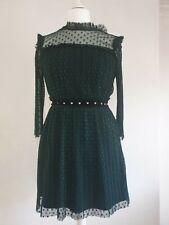 Topshop Lace Dress Size 10 (K1)