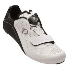 Pearl iZUMi Women's Elite Road v5 Bike Cycling Shoes Black/White 37 (US 6)