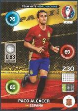 PANINI EURO 2016 ADRENALYN XL CARD- #111-ESPANA-SPAIN-GOAL MACHINE-PACO ALCACER