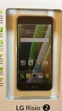 sssssNew UNLOCKED LG Risio 2 4G LTE with 16GB Cricket Wireless Cell Phone Silver