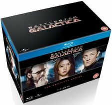 Battlestar Galactica - The Complete Series [Blu-ray Box Set, Region Free Sci-fi]