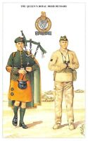 Postcard British Army Series No.9 The Queen's Royal Irish Hussars Geoff White