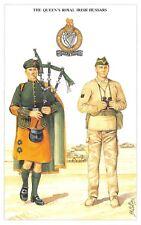 Postcard British Army Series No.9 The Queen's Royal Irish Hussars Geoff White