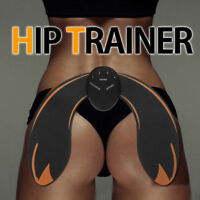 Smart Hips Muscle Trainer Sticker Fat Burning Body Sculpting Massager 4  q@^
