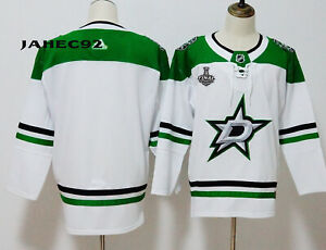 Customs Dallas Stars White Jersey 2020 Stanley Cup Final Stitched