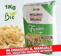Farina Bio Biologica Tipo 0 per Pane Pizza Pasta Focaccia di Grano Tenero