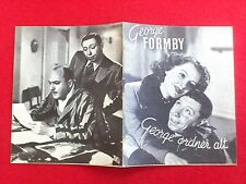 "Danish movie program."" Let George Do It "" 1940. George Formby."
