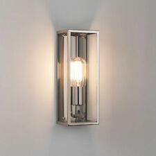 Nickel Hardwired Mains LED Garden Lighting