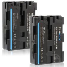 2x Batteria Blumax 1650mAH per Sony SLT-A65,SLT-A77,SLT-A99,HDR-SR1