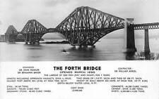 Scotland The Forth Bridge, Opened March 1890, 1954