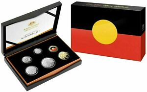 2021 Royal Australian Mint Proof Coin Set - 50th Anniversary Aboriginal Flag