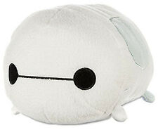 "New Disney Baymax Tsum Tsum Plush White Big Hero 6 Medium Size 10"" Cute Rare US"