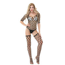 New Bodystocking Fishnet Body Stocking Bodysuit Women Bodycon Nightwear Lingerie