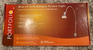 "Portfolio #145654 Micro-Halogen Picture Spot Light 20.5"" Free Shipping NOB"