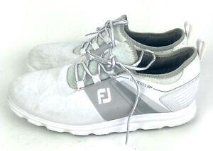 FootJoy Mens 12 W FJ Superlites XP Mens Sneaker Golf Shoes Black 58066 Spikeless
